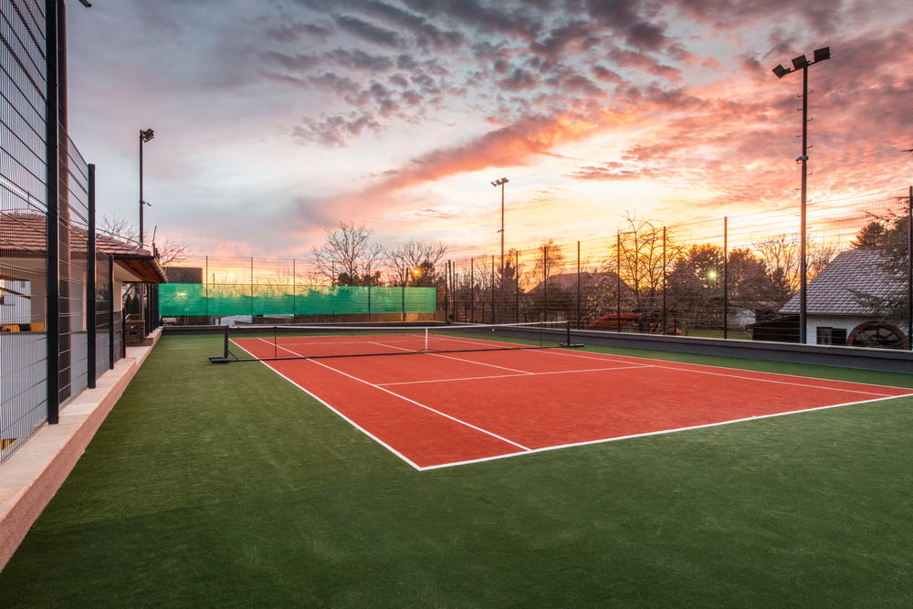 fall winter tennis court care