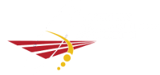 american sports builders association logo - white